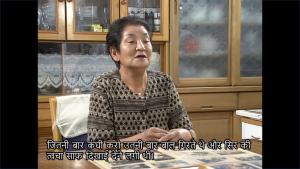 廣田 閲子さん・ヒンディー語