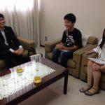 長崎市長さんにサポーター代表が面会