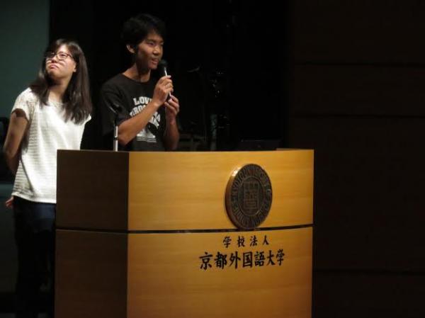 「言語と平和Ⅰ」でピカ☆イチ活動を紹介