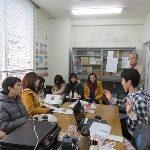 筑波大学のロシア人留学生らと交流