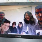エアフルトの学生と京都の被爆者の対話