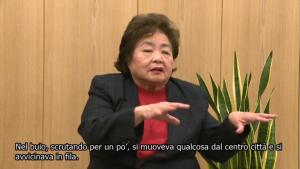 サーロー 節子さん・イタリア語